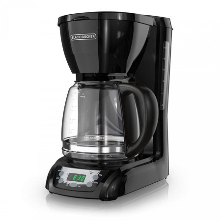 Quick Touch Coffee Maker Programmable, 12 Cup Auto Brew Coffee Machine For