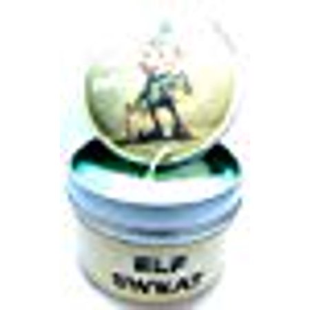 Elf Sweat (Candy Cane and Vanilla) 4oz All Natural Soy Candle Tin - Fun Christmas Scent](Candy Cane Elf)