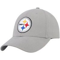 Men's Gray Pittsburgh Steelers Basic Adjustable Hat - OSFA