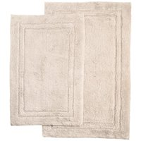 Product Image Superior Luxurious Cotton Non Skid 2pc Bath Rug Set