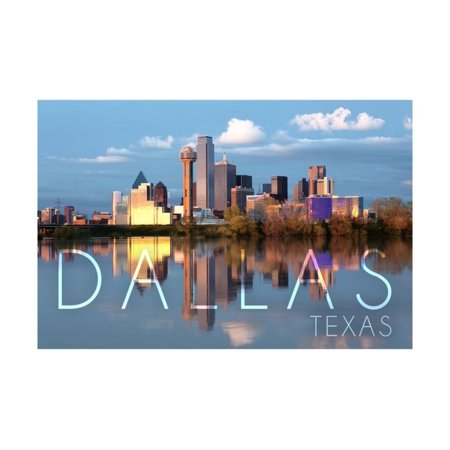Dallas, Texas - Skyline Print Wall Art By Lantern Press](Halloween Events Dallas Texas)