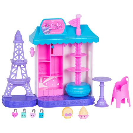 Shopkins World Vacation  Europe    Oh La La Macaron Caf