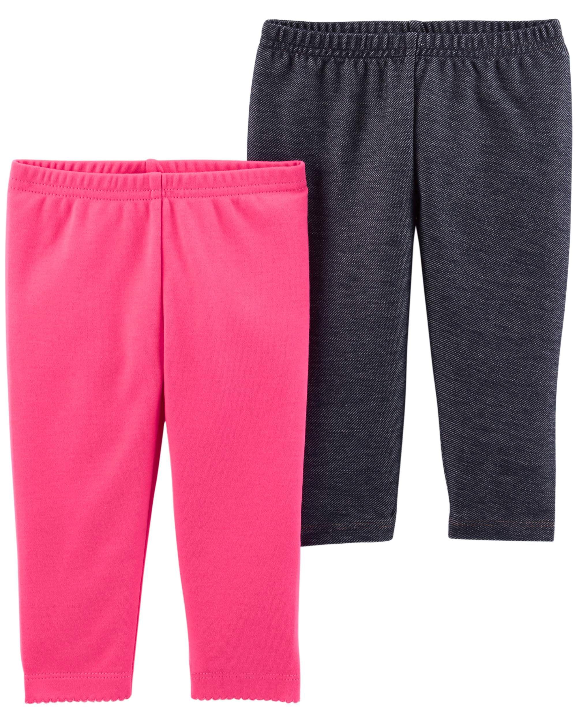 Pants, 2-pack (Baby Girls)