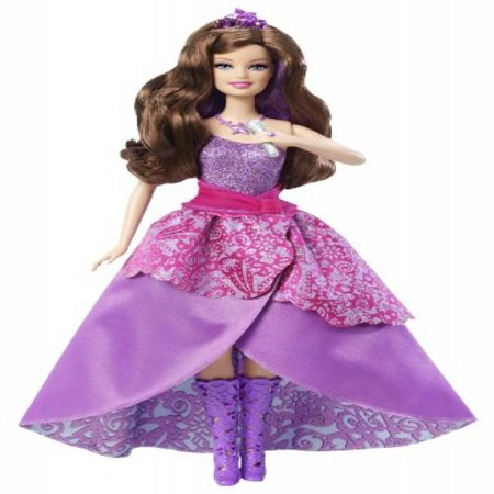 Barbie: The Princess and the Popstar 2-in-1 Doll, Kiera