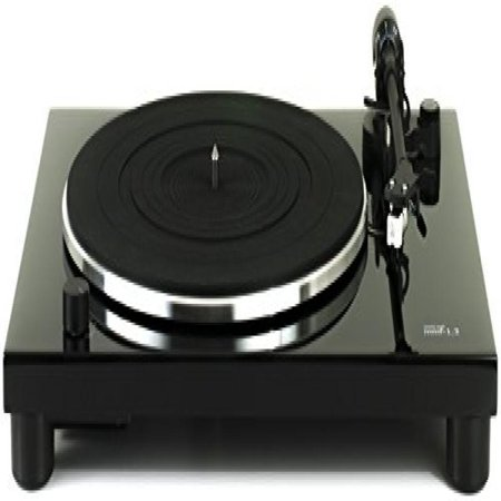 Music Hall MMF-1.3 3-Speed Belt-Driven Turntable with Dust Cover and Cartridge