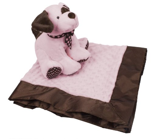 KidKraft Puppy and Blanket Set- Pink 66144