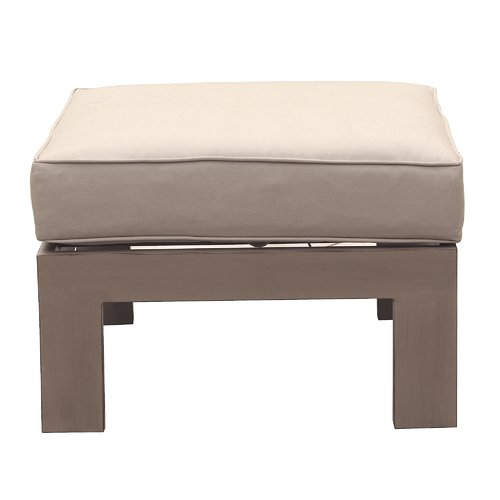 Orren Ellis Otega Outdoor Ottoman with Cushion