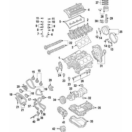 Genuine OE Audi Chain Tensioner 06E-109-507-D Audi Cam Chain Tensioner