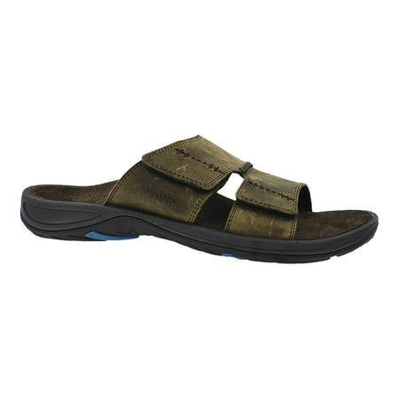 a3e5667c75f4 Vionic - Vionic Jon Men s Slip-on Orthotic Sandal - Brown - Walmart.com