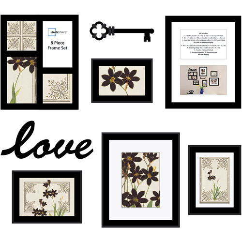 Mainstays 8-Piece Love Frame Set