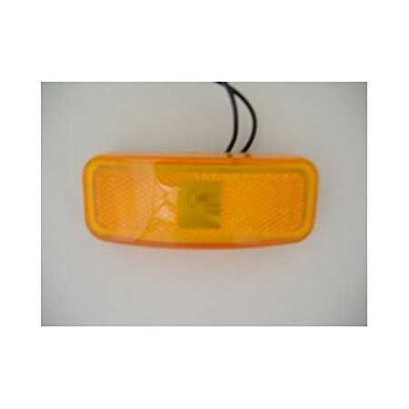 Incandescent 4  Amber Trailer Marker Clearance Lights By Alliance Ship From Us