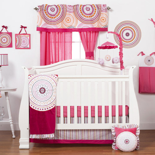One Grace Place Sophia Lolita 3 Piece Crib Bedding Set