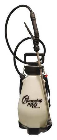 ROUND UP Handheld Sprayer,2 gal.,HDPE 190410 by BURGESS PRODUCTS, INC