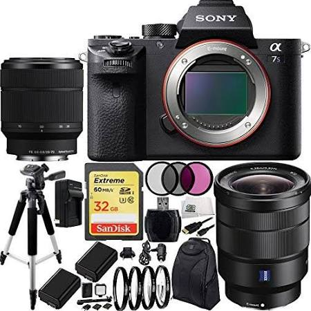 Sony Alpha a7S II a7SII ILCE7SM2/B Mirrorless Camera Bundle - image 1 of 1