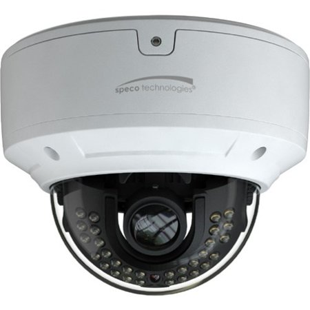 Speco Technologies VLDT6M 2 Mp Hd Tvi Ir Outdoor Dome Camera White