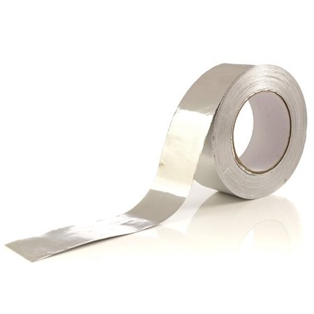 Impresa Products Aluminium Tape/Aluminium Foil Tape - Perfect for HVAC, Duct, Pipe, Insulation and More - 3.4 mil