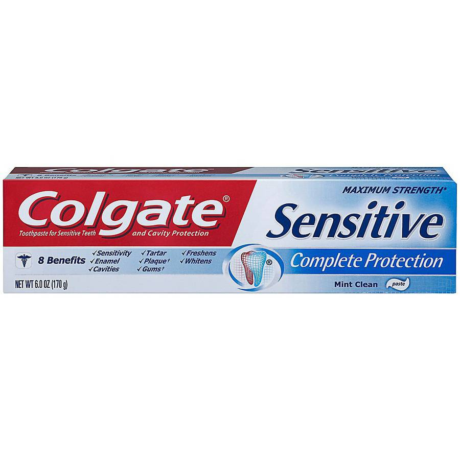 Colgate Sensitive Complete Protection Toothpaste, 6 oz