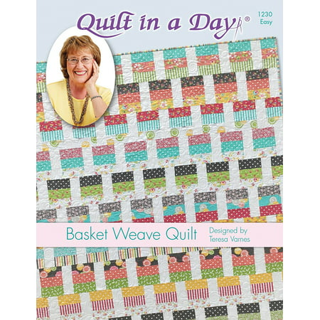 Basket Weave Quilt Pattern, Pattern only By Quilt in a Day ()