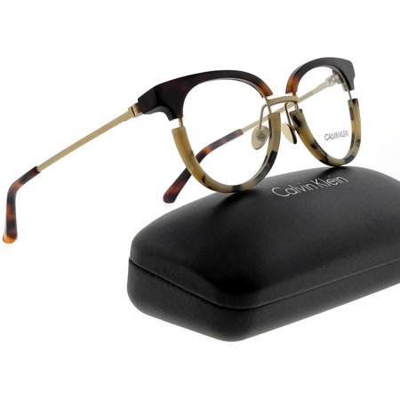 Calvin Klein Collection CK8061 Eyeglasses 245 Soft Tortoise/Cream Tortoise