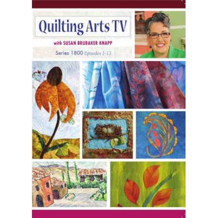 Quilting Arts Tv Series 1800 With Susan Brubaker Knapp Dvd