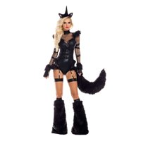 Black Unicorn Costume
