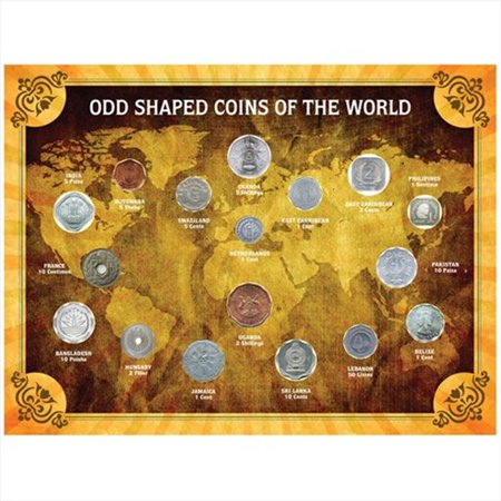 American Coin Treasures  Odd Shaped Coins of the World Coin