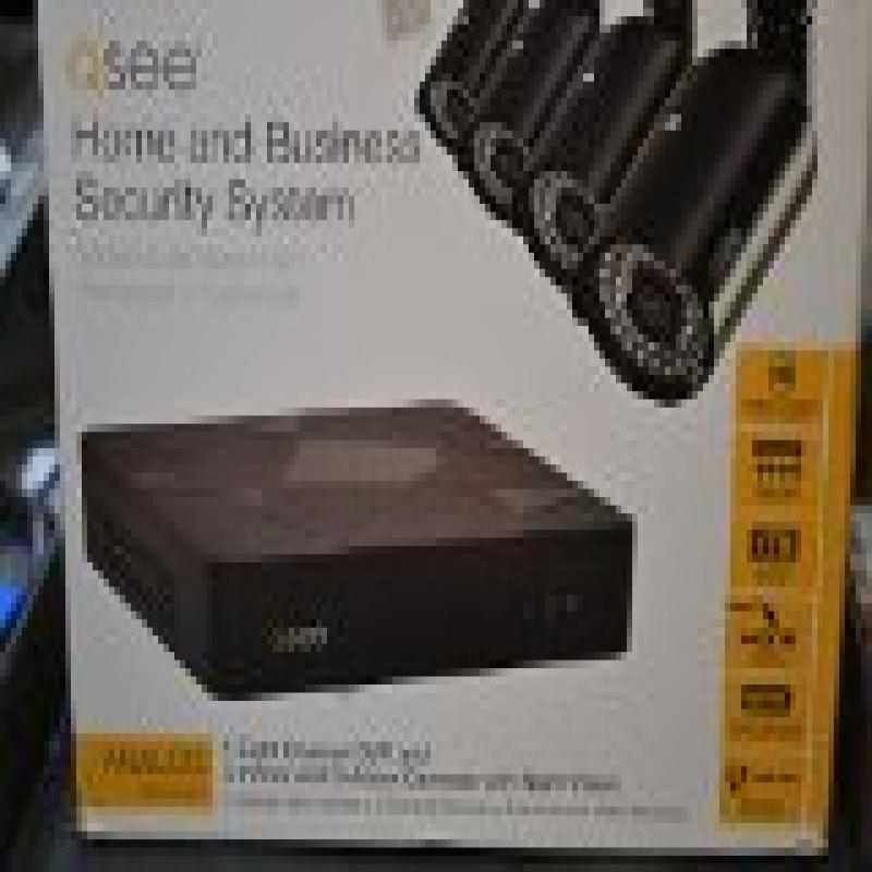 Q-See QT598-4V6-1 8 Channel Full 960H System with 4 High-Resolution 960H/700TVL Cameras and 1TB Hard Drive (Black)
