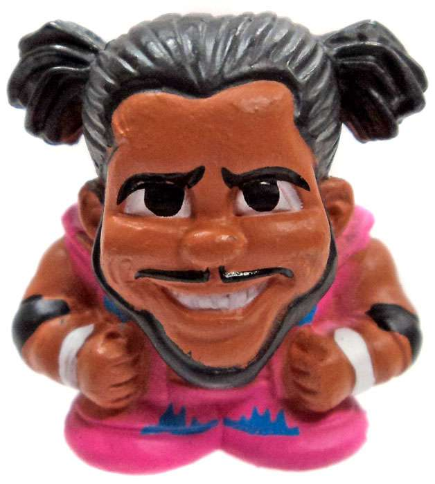 WWE Wrestling TeenyMates WWE Series 2 Kofi Kingston Loose Figure