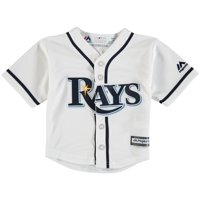 Tampa Bay Rays Newborn & Infant Official Cool Base Jersey - White