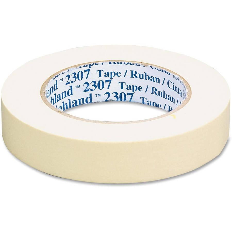 3M 2307 General Purpose Masking Tape Rolls, 36 Rolls