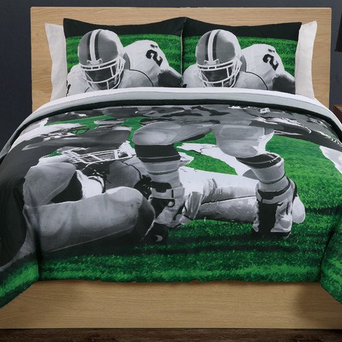 Bed Threads Photoreal Football Running Back Cotton Comforter