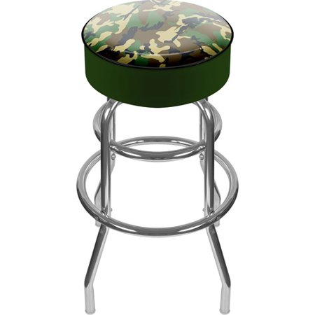 "Trademark Global Hunting Camo 31"" Padded Swivel Bar Stool"