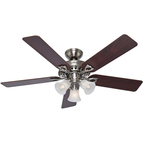 "Hunter Fans 52"" Sontera Ceiling Fan, Brushed Nickel"