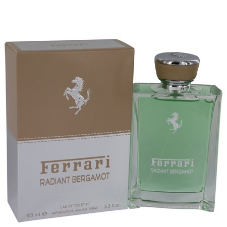 Ferrari Radiant Bergamot by Ferrari Eau De Toilette Spray 3.3 oz for Men