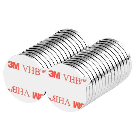 "20pcs 15//32/"" x 1//16/"" Disc 12x1.5mm Neodymium Magnets Refrigerator Permanent N35"