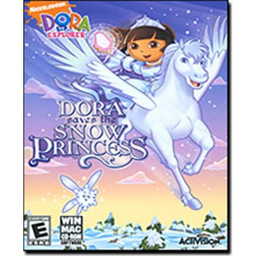 Dora the Explorer Saves the Snow Princess CD-Rom Software for Win & Mac
