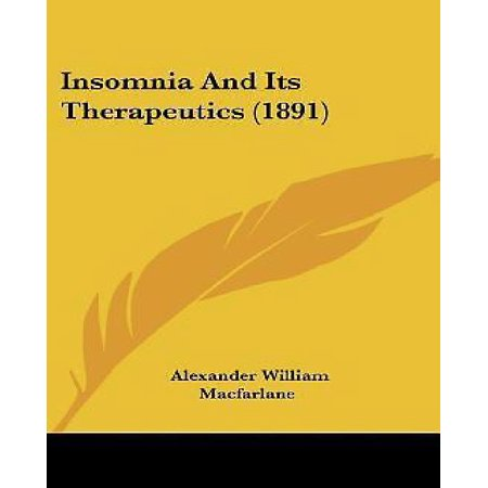 Insomnia And Its Therapeutics  1891
