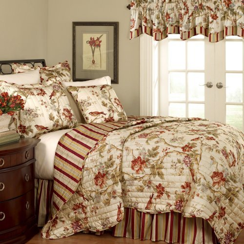 Waverly Sanctuary Rose 4 Piece Bedding Collection