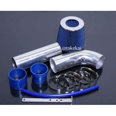 Charger Air Intake System (2005 2006 2007 2008 2009 2010 DODGE CHARGER MAGNUM CHRYSLER 300 2.7 2.7L V6 ENGINE AIR INTAKE KIT SYSTEMS (BLUE) )