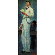"""Marmont Hill """"Lincoln for the Defense"""" by Norman Rockwell Painting Print on Canvas"""