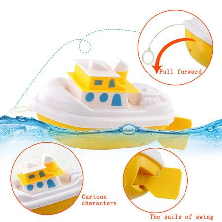 Baby Kids Bathing Toys Wash Play Cartoon Pull Educational