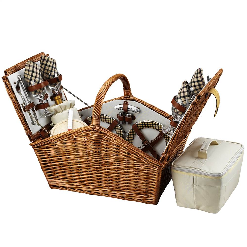 Huntsman Picnic Basket for Four by Picnic at Ascot