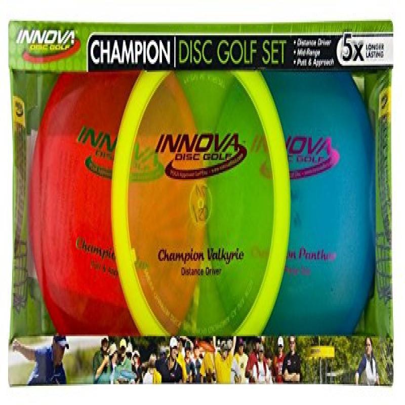 Innova Champion Beginner Disc Golf Set 2-Pack by