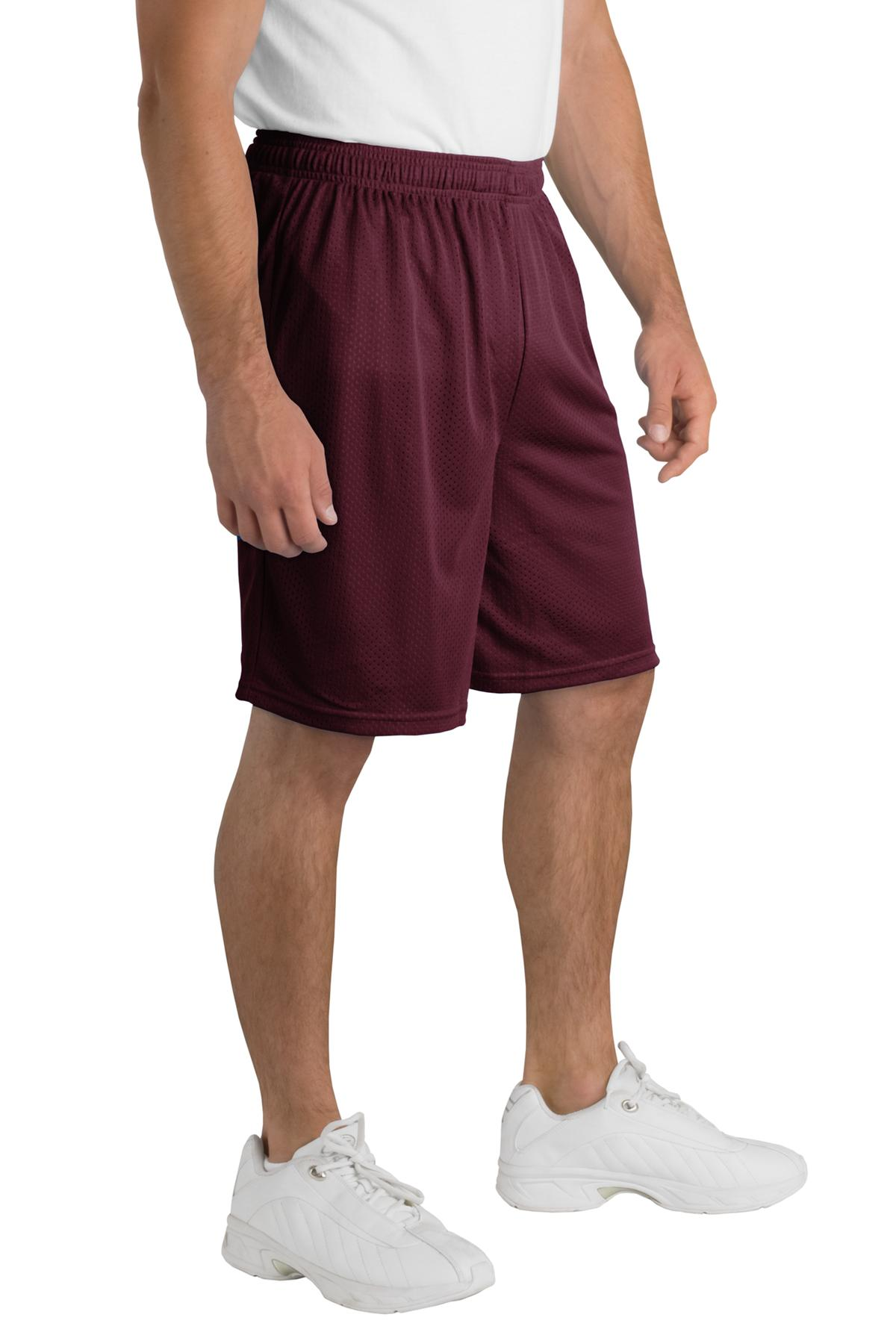 Sport-Tek Men's Elastic Waistband Classic Mesh Short