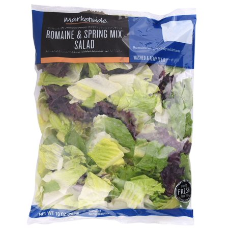 Marketside Romaine Spring Mix Salad, 10 oz