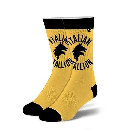 Rocky Italian Stallion Crew Socks, 6-13