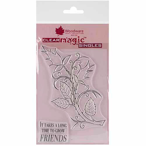 """Woodware Clear Stamps, 5-3/4"""" x 4"""" Sheet"""