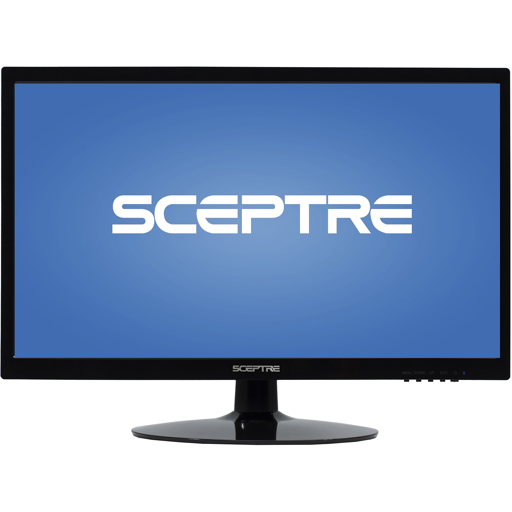"Sceptre 22"" LED 1080p Full HD Monitor (E225W-1920 Black)"