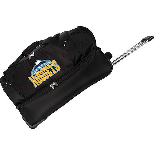 Denco Denver Nuggets Rolling Soft Luggage - No Size