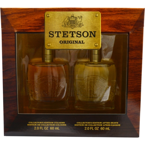 Stetson Set-Cologne 2 Oz & Aftershave 2 Oz (Collector's Edition) By Co